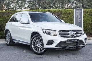 2016 Mercedes-Benz GLC-Class X253 807MY GLC250 d 9G-Tronic 4MATIC Polar White 9 Speed.