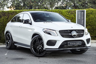2018 Mercedes-Benz GLE-Class C292 MY808+058 GLE43 AMG Coupe 9G-Tronic 4MATIC Polar White 9 Speed.