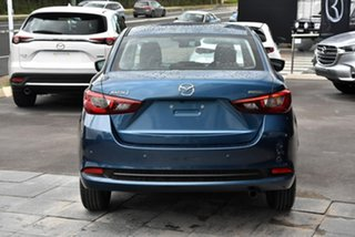 2021 Mazda 2 DL2SAA G15 SKYACTIV-Drive Pure Blue 6 Speed Sports Automatic Sedan.