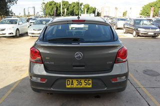 2012 Holden Cruze JH Series II MY12 CDX Grey 6 Speed Sports Automatic Hatchback