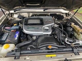 2002 Nissan Patrol GU III ST (4x4) Gold 4 Speed Automatic Wagon