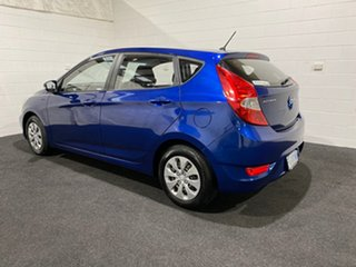 2016 Hyundai Accent RB3 MY16 SR Blue 6 Speed Sports Automatic Hatchback