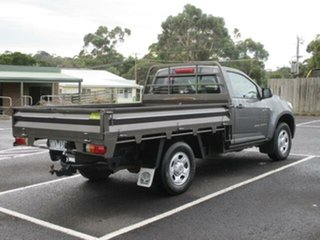 2012 Holden Colorado RG Turbo DX Royal Grey Manual Cab Chassis