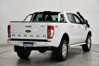 2015 Ford Ranger PX XLT Double Cab Cool White 6 Speed Sports Automatic Utility