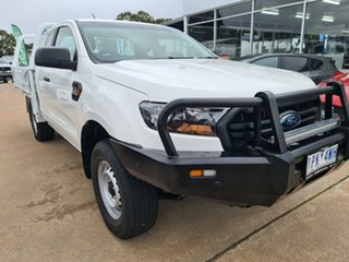 2019 Ford Ranger PX MkIII 2019.00MY XL White 6 Speed Manual Super Cab Chassis.