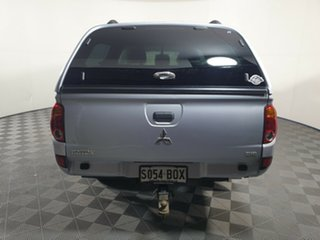 2014 Mitsubishi Triton MN MY15 GLX Double Cab Cool Silver 4 Speed Sports Automatic Utility