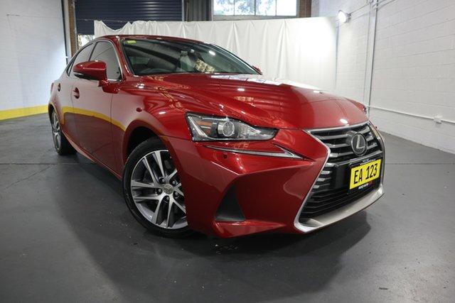 Used Lexus IS ASE30R IS300 Luxury Castle Hill, 2019 Lexus IS ASE30R IS300 Luxury Red 8 Speed Sports Automatic Sedan