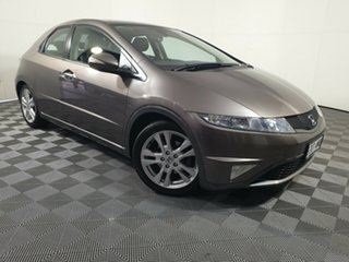 2011 Honda Civic 8th Gen MY11 SI Brown 5 Speed Automatic Hatchback.