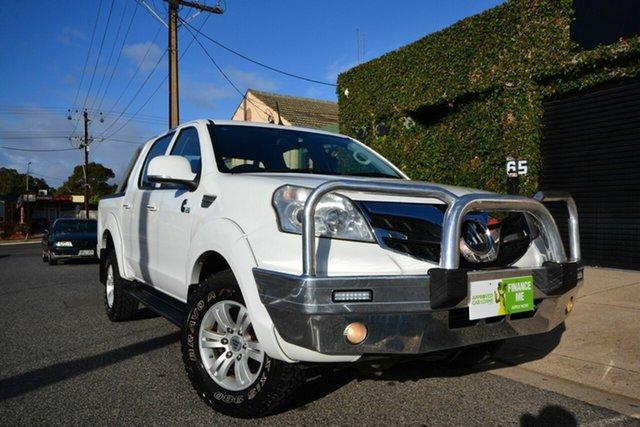 Used Foton Tunland P201 Luxury (4x4) Blair Athol, 2013 Foton Tunland P201 Luxury (4x4) White 5 Speed Manual Dual Cab Utility