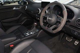 2020 Audi RS 3 8V MY20 Carbon Edition Sportback S Tronic Quattro Glacier White 7 Speed