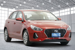 2019 Hyundai i30 PD MY19 Go Red 6 Speed Sports Automatic Hatchback.