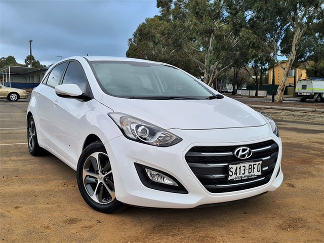 Used Hyundai i30 GD3 Series II MY16 Active X St Marys, 2015 Hyundai i30 GD3 Series II MY16 Active X White 6 Speed Sports Automatic Hatchback