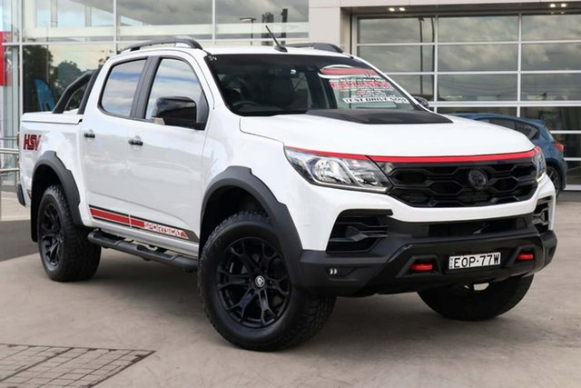 Used Holden Special Vehicles Colorado RG MY19 SportsCat Pickup Crew Cab RS Liverpool, 2019 Holden Special Vehicles Colorado RG MY19 SportsCat Pickup Crew Cab RS White 6 Speed