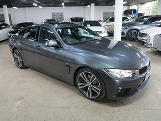 2016 BMW 4 Series F36 430i Gran Coupe M Sport Mineral Grey 8 Speed Sports Automatic Hatchback.