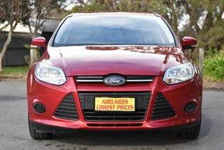 2012 Ford Focus LW MkII Ambiente PwrShift Red 6 Speed Sports Automatic Dual Clutch Sedan.