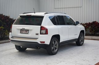 2014 Jeep Compass MK MY15 North CVT Auto Stick White 6 Speed Constant Variable Wagon
