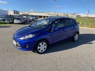 2012 Ford Fiesta WT LX Aurora Blue 6 Speed Automatic Hatchback.