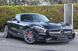 2016 Mercedes-Benz AMG GT C190 806MY S SPEEDSHIFT DCT Magnetite Black 7 Speed.