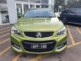 2015 Holden Ute VF MY15 SV6 Ute Storm Green 6 Speed Sports Automatic Utility.