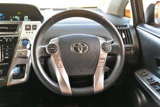 2017 Toyota Prius v ZVW40R I-Tech White 1 Speed Constant Variable Wagon Hybrid