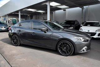 2014 Mazda 3 BM5236 SP25 SKYACTIV-MT GT Grey 6 Speed Manual Sedan.