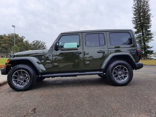 2021 Jeep Wrangler JL MY21 Unlimited 80th Anniversary Sarge Green 8 Speed Automatic Convertible