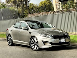 2012 Kia Optima TF MY12 Platinum Silver 6 Speed Sports Automatic Sedan.