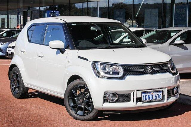 Used Suzuki Ignis MF GLX Gosnells, 2018 Suzuki Ignis MF GLX White 1 Speed Constant Variable Hatchback