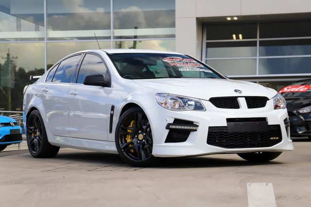 Used Holden Special Vehicles GTS Gen-F MY14 Liverpool, 2014 Holden Special Vehicles GTS Gen-F MY14 Heron White 6 Speed Sports Automatic Sedan