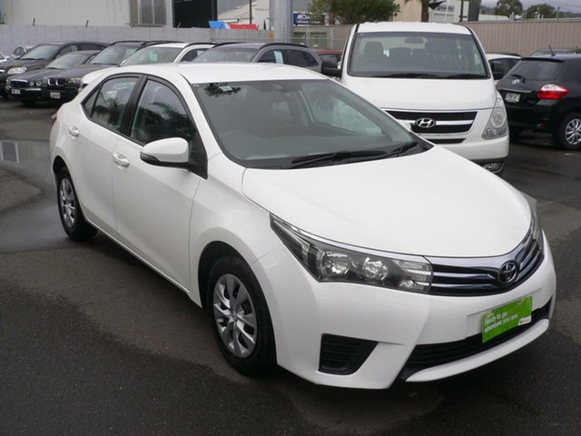 Used Toyota Corolla ZRE152R Ascent St Marys, 2013 Toyota Corolla ZRE152R Ascent White 4 Speed Automatic Sedan