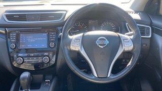 2014 Nissan Qashqai J11 TI White 1 Speed Constant Variable Wagon