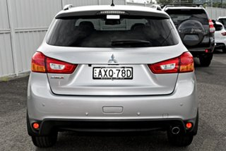 2014 Mitsubishi ASX XB MY15 XLS 2WD Silver 6 Speed Constant Variable Wagon