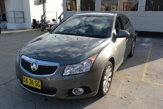 2012 Holden Cruze JH Series II MY12 CDX Grey 6 Speed Sports Automatic Hatchback.