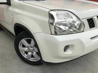 2009 Nissan X-Trail T31 MY10 TS White 6 Speed Sports Automatic Wagon