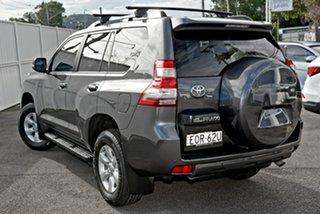 2017 Toyota Landcruiser Prado GDJ150R GXL Grey 6 Speed Sports Automatic Wagon.