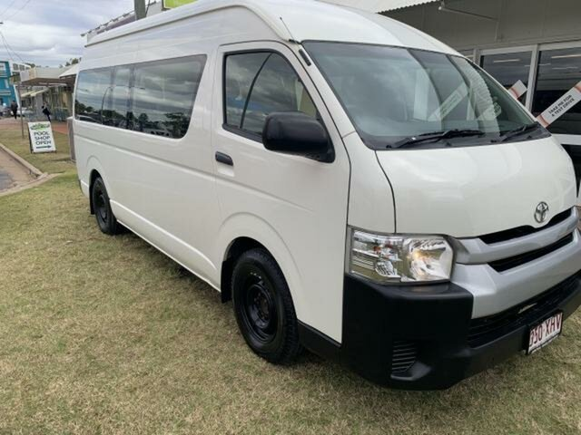 Used Toyota HiAce KDH223R MY16 Commuter Emerald, 2016 Toyota HiAce KDH223R MY16 Commuter White 4 Speed Automatic Bus