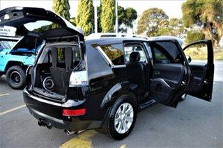 2008 Mitsubishi Outlander ZG MY08 VR-X Luxury Black 6 Speed Sports Automatic Wagon