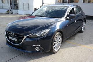 2015 Mazda 3 BM5438 SP25 SKYACTIV-Drive Astina Crystal Blue 6 Speed Sports Automatic Hatchback.