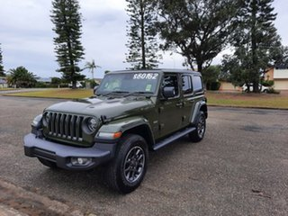 2021 Jeep Wrangler JL MY21 Unlimited 80th Anniversary Sarge Green 8 Speed Automatic Convertible.