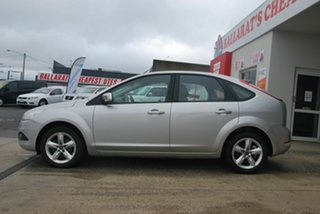 2010 Ford Focus LV LX Silver 4 Speed Automatic Hatchback.