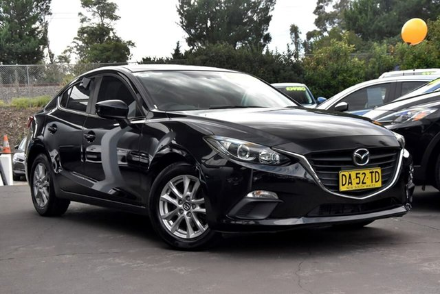 Used Mazda 3 BM5278 Maxx SKYACTIV-Drive Waitara, 2014 Mazda 3 BM5278 Maxx SKYACTIV-Drive Black 6 Speed Sports Automatic Sedan