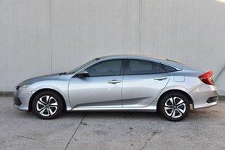 2018 Honda Civic 10th Gen MY18 VTi Silver 1 Speed Constant Variable Sedan
