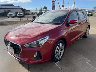 2019 Hyundai i30 PD2 MY19 Active Red/290619 6 Speed Sports Automatic Hatchback