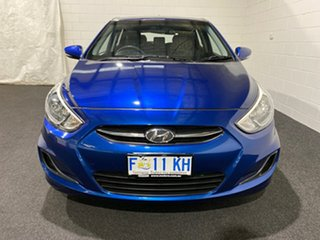 2016 Hyundai Accent RB3 MY16 SR Blue 6 Speed Sports Automatic Hatchback.
