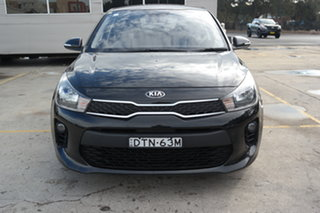 2017 Kia Rio YB MY18 AO Edition Black 4 Speed Sports Automatic Hatchback.