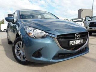 2015 Mazda 2 DL2SAA Neo SKYACTIV-Drive Blue 6 Speed Sports Automatic Sedan.
