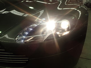 2007 Aston Martin V8 Vantage Lightning Silver 6 Speed Manual Coupe