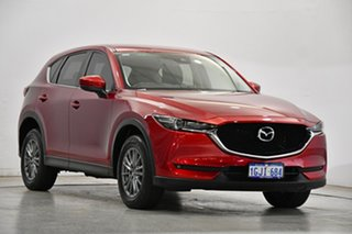 2017 Mazda CX-5 KF4W2A Touring SKYACTIV-Drive i-ACTIV AWD Soul Red 6 Speed Sports Automatic Wagon