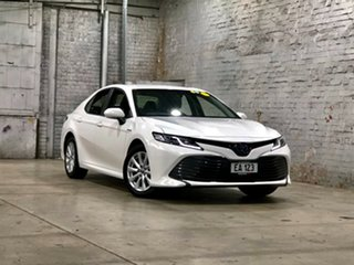 2020 Toyota Camry AXVH71R Ascent White 6 Speed Constant Variable Sedan Hybrid.