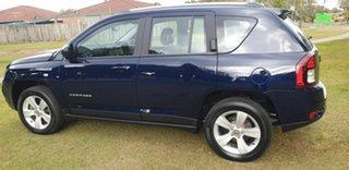 2013 Jeep Compass MK MY14 Sport Blue 6 Speed Sports Automatic Wagon